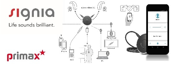 Wireless controls for hearing aids
